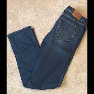 Madewell Rail Straight Jeans Size 29x32